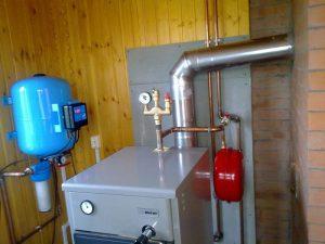 монтаж котлов отопления в Севастополе