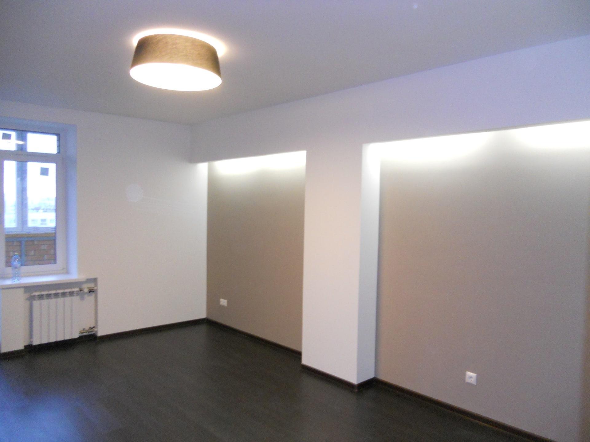 отделка стен в новой квартире