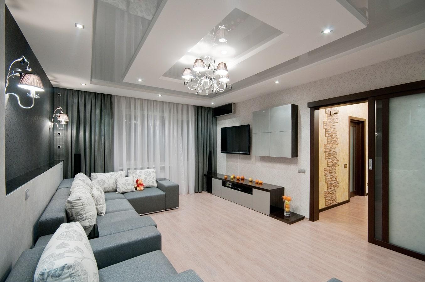 Красивый ремонт в двухкомнатной квартире
