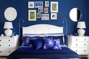 ремонт квартиры в Севастополе в синем цвете