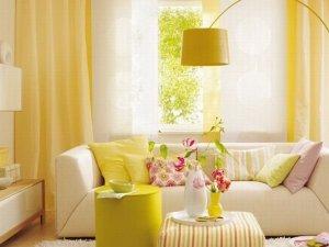 ремонт квартиры в Севастополе в желтом цвете