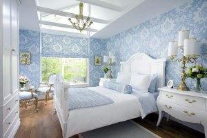 ремонт квартиры в Севастополе в голубом цвете
