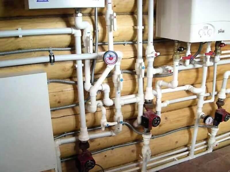 Монтаж трубопроводов из полипропиленовых труб