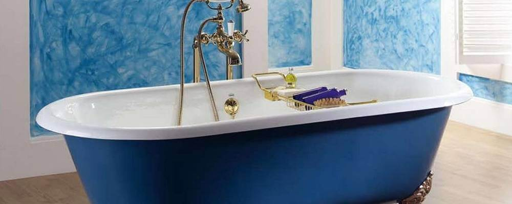 установка ванны - фото