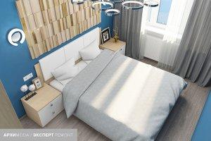 дизайн-проект квартиры на ул Колобова