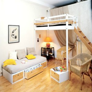 два уровня квартиры