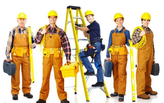 команда рабочих
