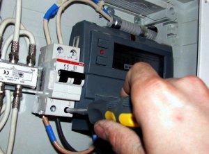 монтаж счетчиков электроэнергии