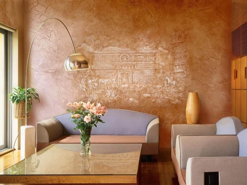 Декоративная штукатурка дизайн комнат