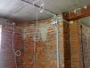 поменять проводку в квартире
