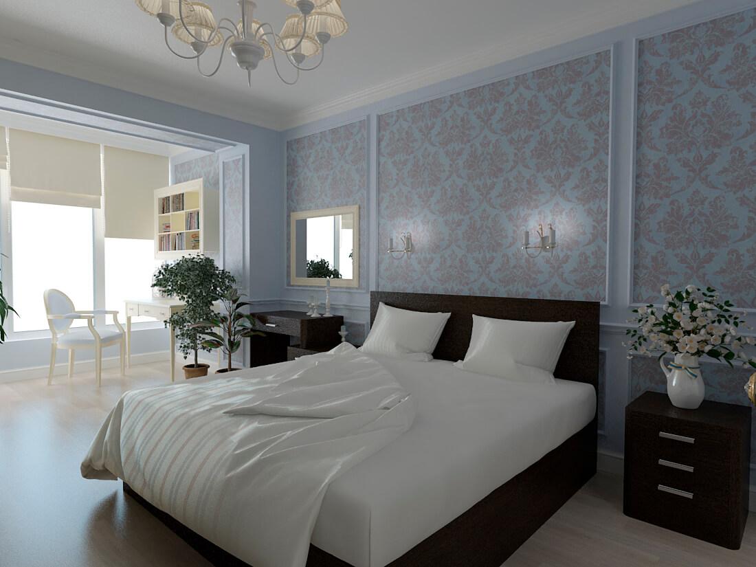 дизайн ремонта спальни
