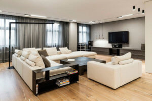ремонт просторной квартиры