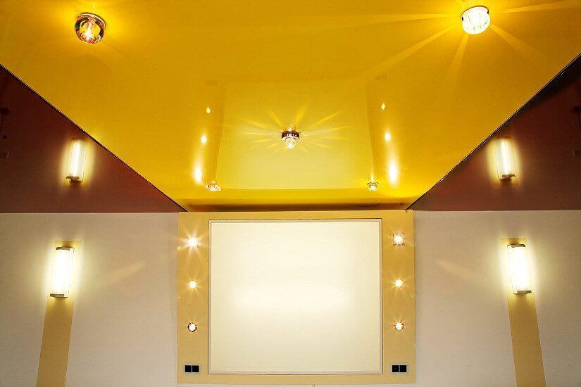 какой цвет потолков выбрать