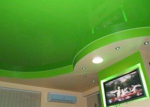 какой цвет потолка