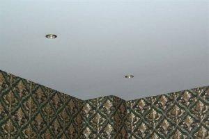 тканевые натяжные потолки плюсы