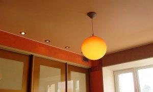 матовый или сатиновый потолок