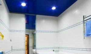 дизайн глянцевого потолка