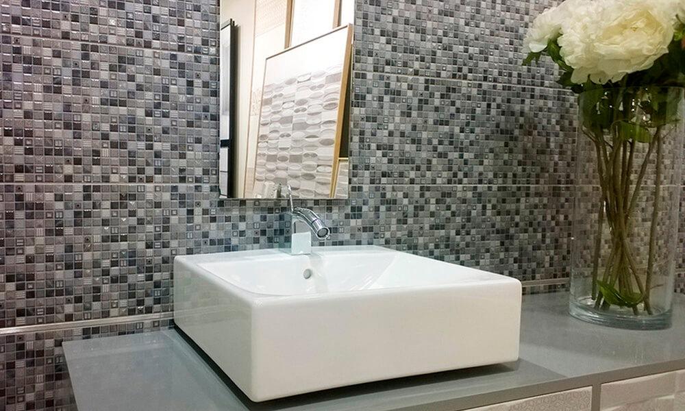 отделка ванны мозаикой