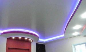 двухуровневый потолок с подсветкой в севастополе