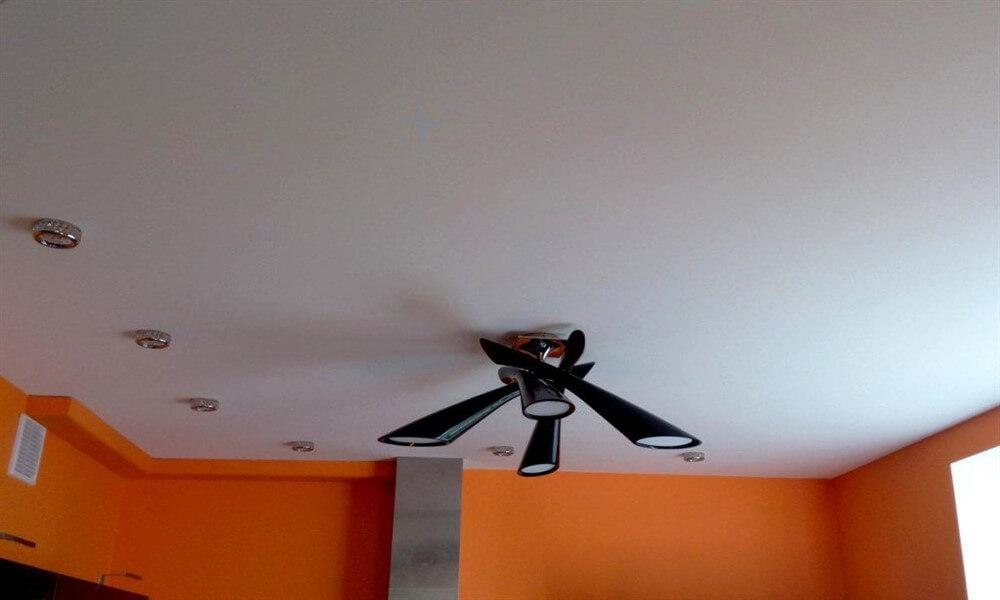 тканевый потолок или пвх