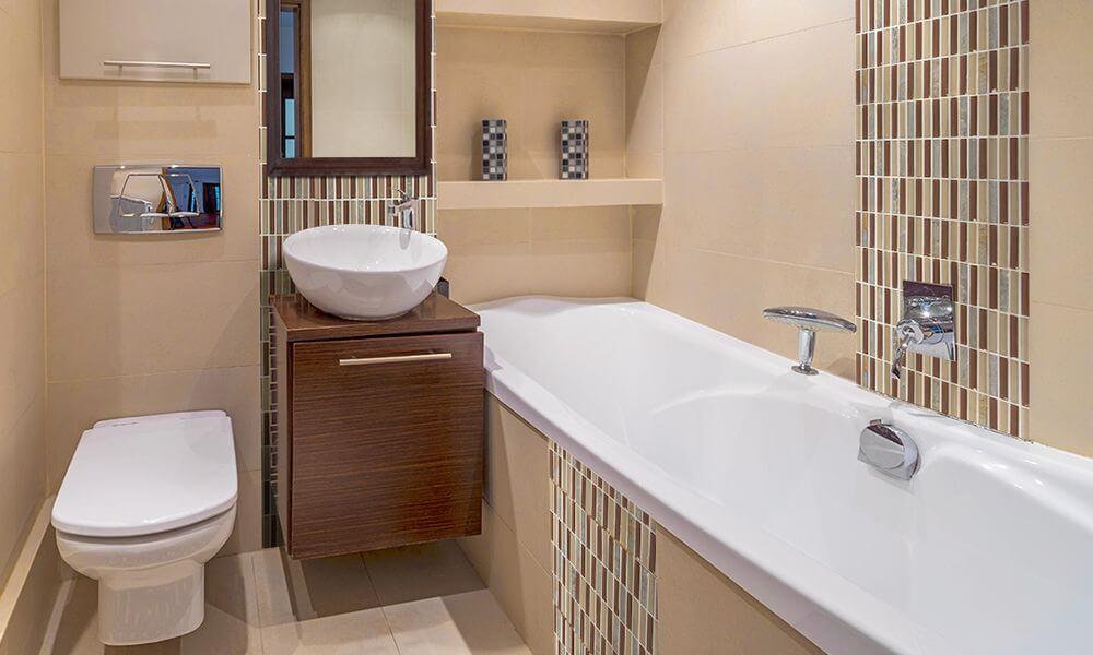 стили ремонта ванной комнаты