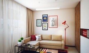 ремонт однокомнатной квартиры 30 кв