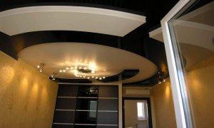 виды материалов натяжных потолков
