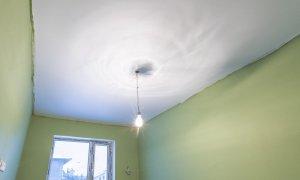 натяжной матовый потолок