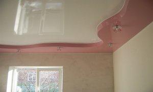 небольшой натяжной потолок