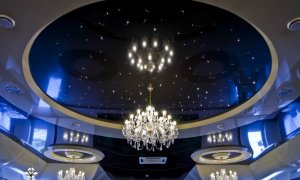 купить натяжной потолок со звездами