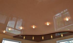 купить натяжной потолок с лампочками в севастополе