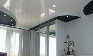 натяжной потолок над окном в севастополе