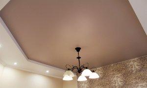 матовый натяжной потолок севастополь