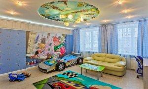 натяжной потолок в детской Севастополь