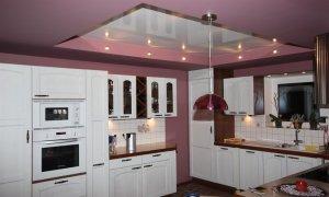 натяжные потолки на кухне Севастополь