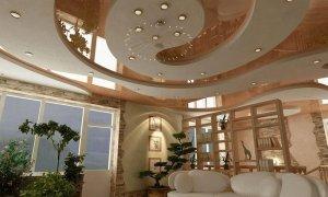 красивый натяжной потолок Севастополь