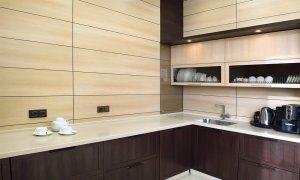 отделка стен мдф на кухне