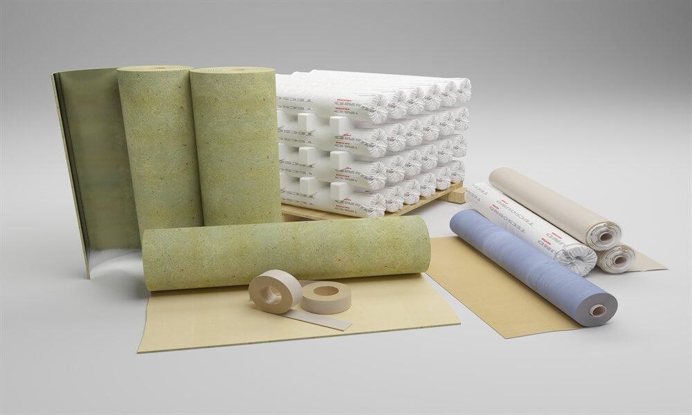 материалы для звукоизоляции стен