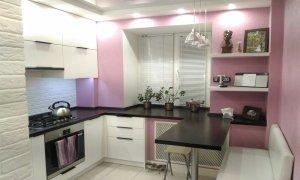 идея ремонта маленькой кухни