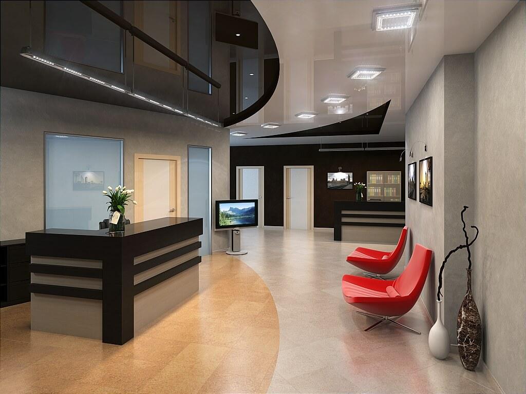 Потолок офис