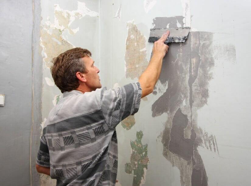 Подготовка стен под покраску