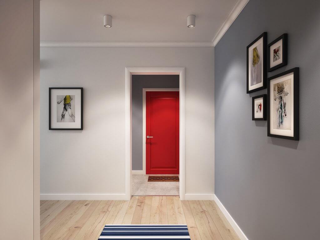 Какой цвет выбрать для коридора
